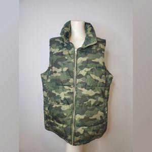 Old Navy Camouflage Vest XL